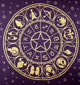 Astrology Natal Chart, Horoscope, Zodiac Signs by nomadsoul1 / 123RF Stock Photo