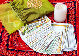 Tarot Card Reading - image by mvorobiev / 123RF Stock Photo